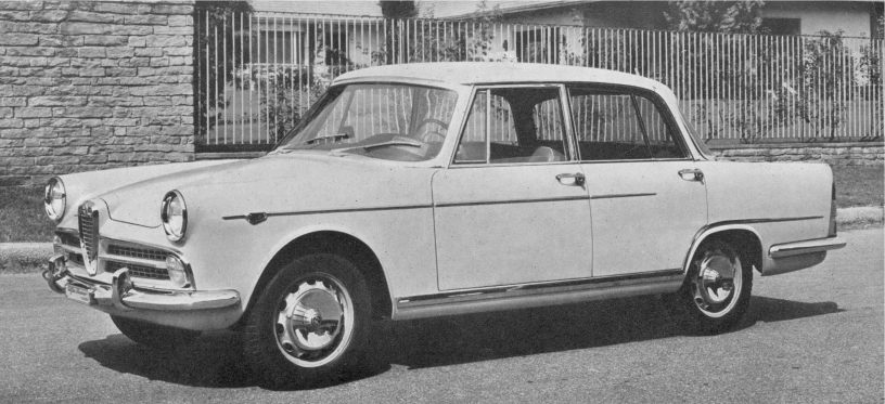 Berlina Typ 102 2,0 l - Alfa Romeo Club 2000 / 2600